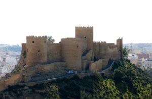 el alcazaba de Almeria - casa sol y luz