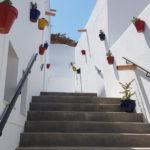 escalera exterior - casa sol y luz