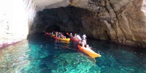 kayak en cabo de gata - casa sol y luz