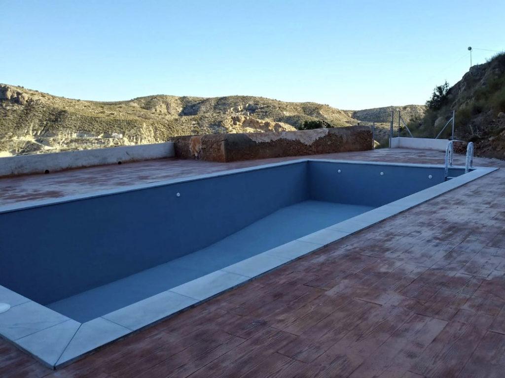 piscina después - casa sol y luz