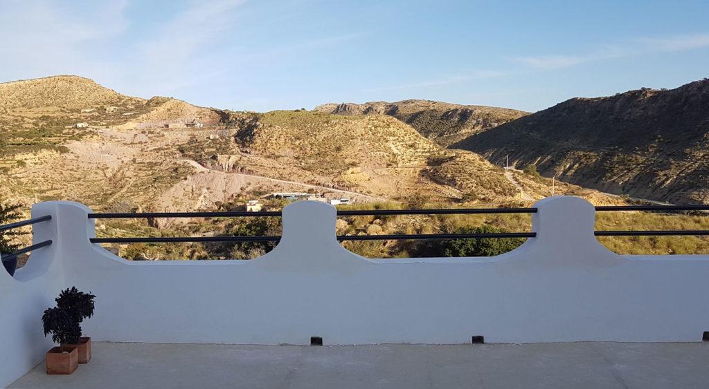 View from terrace - casa sol y luz